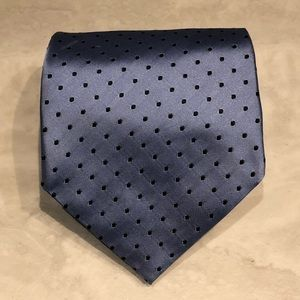 Banana Republic Polka Dot Print Pattern Silk Tie